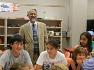 Presidential Science Advisor Visits Museum